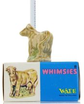 No.27 Cow Miniature Porcelain Figurine Picture Box Whimsies by Wade image 3