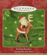 2001 Rocking Reindeer Keepsake Ornament - $19.99