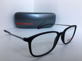 New PRADA Sport VPS 03H DG0-1O1 Rx 55mm Black Eyeglasses Frame Italy - $72.99
