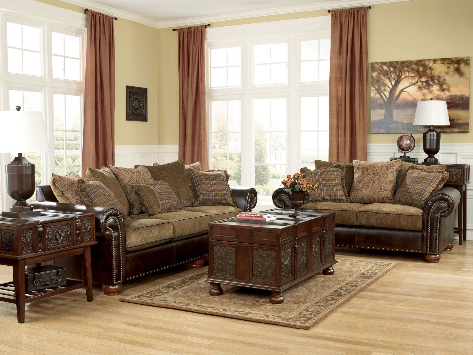 Cordoba Traditional Faux Leather Chenille and similar items