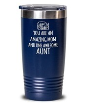 Amazing Plant Aunt Mom Water Tumbler Insulated Stainless Steel Thermos for Aunti - $24.75