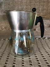Vintage Douglas Flameproof Coffee Percolator Glass Bottom Complete - $50.59