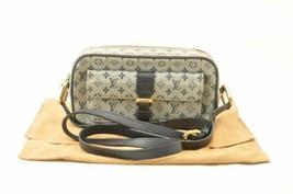 LOUIS VUITTON Monogram Mini Juliet Shoulder Bag Blue M92219 Auth sa2254 - $498.00