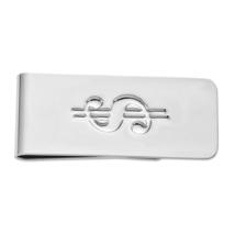 Non Metal Silver-Tone Dollar Sign Money Clip (Length=3.75) (Width=2.25) ... - $15.12
