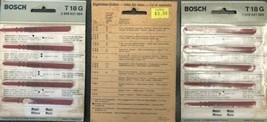 """Bosch T18G 3-1/4"""" T-Shank Jigsaw Blades Swiss 3 packs of 5 - $11.88"""