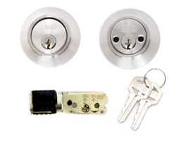 Mobile Home Stainless Steel Double Cylinder Deadbolt Lock - $26.14