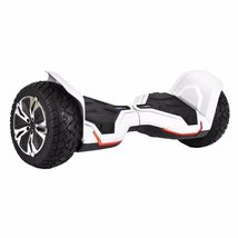"White 8.5"" Off Road All Terrain Bluetooth Hoverboard Two Wheel Balance S... - $329.00"
