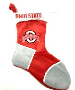 Ohio State Buckeyes NCAA Plush Christmas Stocking by Forever Collectibles - $16.99