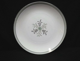 "Old Noritake China Lucille 5813 8-1/4"" Salad Plate Gray Green Band Flowe... - $14.84"