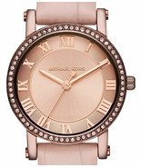 Authentic Michael Kors MK2723 Womens Norie Sable Tone Embossed Leather S... - $157.99