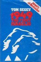 1949: The First Israelis by Tom Segev (1986, Hardcover) - $19.99