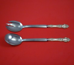 "Violet by Wallace Sterling Silver Salad Serving Set Modern Custom Made 10 1/2"" - $149.00"