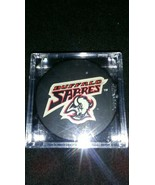 Buffalo Sabres Official NHL Hockey Puck In Case - $7.87
