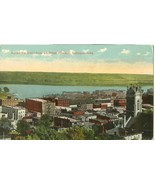 Across the River from 4th Street Elevator, Dubuque, Iowa early 1900s Pos... - $5.77