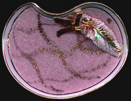 Lefton  China Eastern Elegance Pink Decorative Dish - $9.99