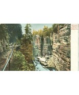 Adirondack Mountains, Table Rock Ausable chasm early 1900s unused Postcard  - $5.77