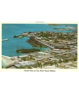 Aerial view of Key West Naval Station, Fort Taylor, Truman Beach old Pos... - $8.50