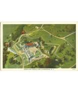 Aeroplane view of Fort Ticonderoga N.Y  1929 used Postcard  - $5.35