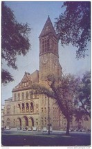 Albany New York, City Hall 1956 used Postcard - $3.99