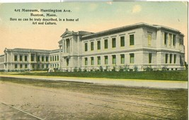 Art Museum, Huntington Ave, Boston, Mass early 1900s unused Postcard  - $3.99