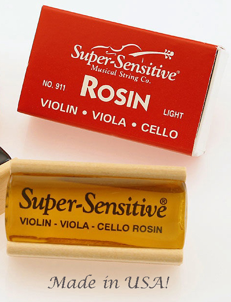 Primary image for Super Sensitive Light Rosin/Violin/Fiddle/Cello/Viola/New/OUT OF STOCK