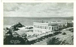 Cliff House and Seal Rocks, San Francisco, California 1930s unused Postcard  - $5.99