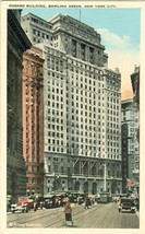 Cunard Building, Bowling Green, New York City 1920s unused Postcard  - $5.50