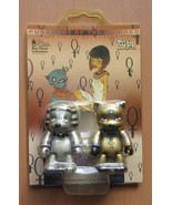 Pussycat of the Damned & Pharaoh Dog Qee Keychain Toy2R 2005 NRFP Angel ... - $24.97