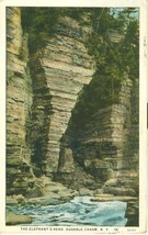 The Elephant's Head, Ausable Chasm, N.Y. 1929 used Postcard  - $4.25
