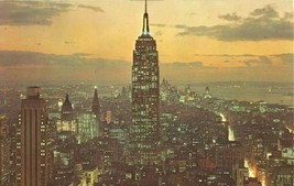 Empire State Building, New York City 1960s unused Postcard  - $4.35
