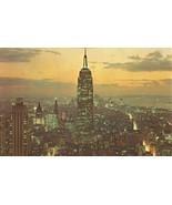 Empire State Building, New York City 1960s unused Postcard  - $4.35