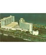 The Fabulous Fontainbleau Hotel, Miami Beach Florida 1960s unused postcard - $6.50