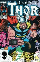 The Mighty Thor #351 Copper Age Collectible Comic Book Marvel Comics! - $3.19
