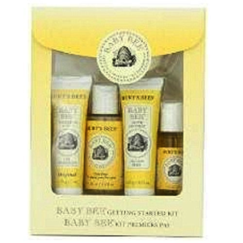 Burt's Bees Baby Bee Getting Started Kit 5 Piece Gift Set New in Box - $19.99