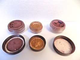 3 BAREMINERALS id EYESHADOW ESCENTUALS retired color CLEOPATRA PLUM DARK... - $7.60