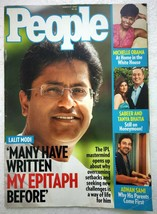 People Mar 2009 Michelle Obama Adnan Sami Lalit Modi Neil Nitin Gwyneth ... - $4.99