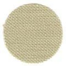 Fabric cut 32ct summer khaki belfast linen 16x18 for Quaker Medallion Sampler  - $16.20