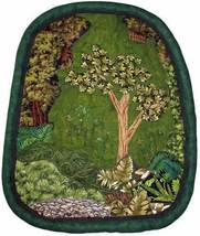 Deep in the Woods: Quilted Art Wall Hanging - $425.00