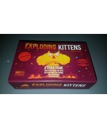 Exploding Kittens PARTY PACK Card Game Friendly Party Fun unused Kicksta... - $44.55