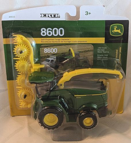 John Deere LP53355 ERTL 8600 Self Propelled Forage Harvester