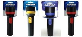 (4) Rayovac Value Bright 2D Economy Flashlights - 9 Lumens - uses 2 D ba... - $12.19