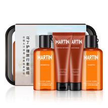 MARTIN Men's Cologne Scented Shower Gel Shampoo Lotion & Face Wash Trave... - $23.98