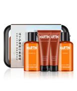 MARTIN Men's Shower Gel, Shampoo, Lotion & Face Wash Skincare 4 Pcs Trav... - $25.00