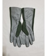 Army Flight Gloves Nomex Sage Green Size 5 NEW - $14.84
