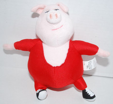 "Sing Movie Gunter Pig Red Leotard 8"" Plush Toy Doll Universal Studios Sn... - $14.80"
