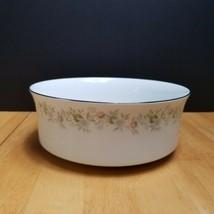 Johann Haviland Forever Spring Serving Bowl White Multi-Color Floral Rim  - $19.79