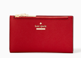 Kate Spade Cameron Street Mikey Card Case Coin Purse Slim Wallet ~Nwt~ Red - $70.39