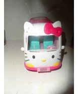 Hello Kitty Figures Toy Ambulance With Hello Kitty Figure - $9.85
