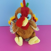 Ganz Webkinz Plush Turkey No Code HM418 Stuffed Animal Thanksgiving Fall... - $12.86