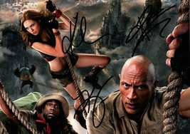 "Autographed Film ""Jumanji"" Signed Photo 8 x 12 - $27.80"